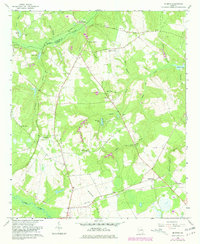 Download a high-resolution, GPS-compatible USGS topo map for Mc Bean, GA (1981 edition)