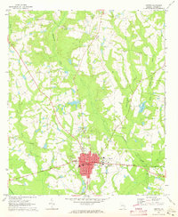 Download a high-resolution, GPS-compatible USGS topo map for Metter, GA (1973 edition)