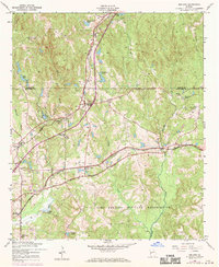 Download a high-resolution, GPS-compatible USGS topo map for Midland, GA (1970 edition)