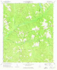 Download a high-resolution, GPS-compatible USGS topo map for Morris, GA (1974 edition)
