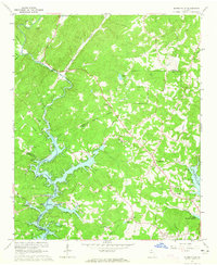 Download a high-resolution, GPS-compatible USGS topo map for Murrayville, GA (1965 edition)