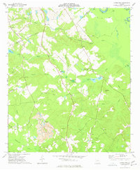 Download a high-resolution, GPS-compatible USGS topo map for Napier Pond, GA (1977 edition)