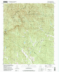 Download a high-resolution, GPS-compatible USGS topo map for Nimblewill, GA (2000 edition)