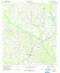 Download a high-resolution, GPS-compatible USGS topo map for Norman Park, GA (1991 edition)