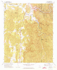 Download a high-resolution, GPS-compatible USGS topo map for Oakman, GA (1973 edition)
