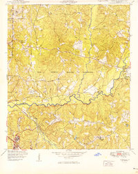 Download a high-resolution, GPS-compatible USGS topo map for Ochillee, GA (1949 edition)