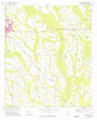 Download a high-resolution, GPS-compatible USGS topo map for Ocilla East, GA (1977 edition)