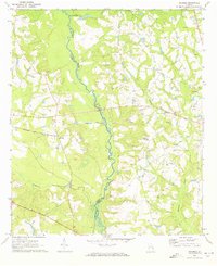 Download a high-resolution, GPS-compatible USGS topo map for Ohoopee, GA (1973 edition)