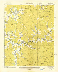 Download a high-resolution, GPS-compatible USGS topo map for Osborn, GA (1935 edition)