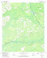 Download a high-resolution, GPS-compatible USGS topo map for Patterson SE, GA (1988 edition)