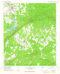 Download a high-resolution, GPS-compatible USGS topo map for Pine Mountain, GA (1966 edition)
