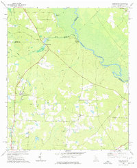 Download a high-resolution, GPS-compatible USGS topo map for Queensland, GA (1977 edition)