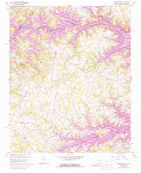 Download a high-resolution, GPS-compatible USGS topo map for Reed Creek, GA (1975 edition)