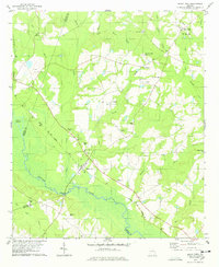 Download a high-resolution, GPS-compatible USGS topo map for Rocky Ford, GA (1978 edition)
