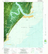 Download a high-resolution, GPS-compatible USGS topo map for Sea Island, GA (1991 edition)