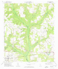 Download a high-resolution, GPS-compatible USGS topo map for Shellman, GA (1974 edition)