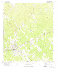 Download a high-resolution, GPS-compatible USGS topo map for Sparta, GA (1975 edition)
