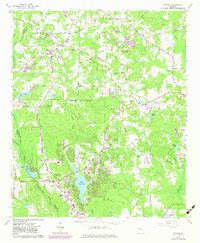 Download a high-resolution, GPS-compatible USGS topo map for Tyrone, GA (1983 edition)