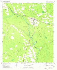 Download a high-resolution, GPS-compatible USGS topo map for Willacoochee, GA (1976 edition)