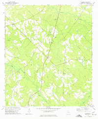 Download a high-resolution, GPS-compatible USGS topo map for Workmore, GA (1977 edition)