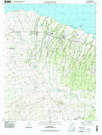 Usgs 1 24 000 Hawi Hawaii 14 00 Charts And Maps Onc And Tpc