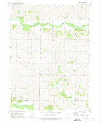 Download a high-resolution, GPS-compatible USGS topo map for Amish, IA (1975 edition)