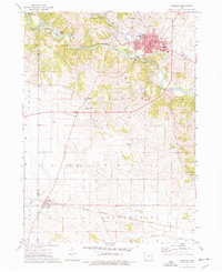 Download a high-resolution, GPS-compatible USGS topo map for Anamosa, IA (1977 edition)