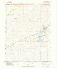 Download a high-resolution, GPS-compatible USGS topo map for Anita, IA (1973 edition)