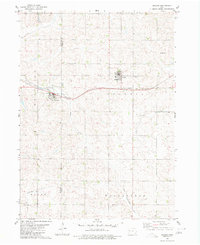 Download a high-resolution, GPS-compatible USGS topo map for Arcadia, IA (1980 edition)