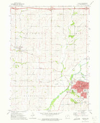 Download a high-resolution, GPS-compatible USGS topo map for Atlantic, IA (1973 edition)