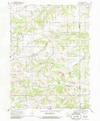 Download a high-resolution, GPS-compatible USGS topo map for Avery, IA (1986 edition)