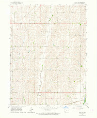 Download a high-resolution, GPS-compatible USGS topo map for Avoca NW, IA (1964 edition)
