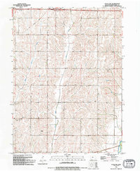 Download a high-resolution, GPS-compatible USGS topo map for Avoca NW, IA (1994 edition)