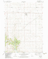 Download a high-resolution, GPS-compatible USGS topo map for Bagley, IA (1983 edition)