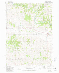 Download a high-resolution, GPS-compatible USGS topo map for Baldwin, IA (1981 edition)