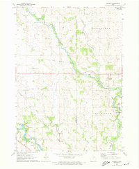 Download a high-resolution, GPS-compatible USGS topo map for Bassett, IA (1973 edition)