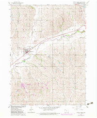Download a high-resolution, GPS-compatible USGS topo map for Battle Creek, IA (1983 edition)