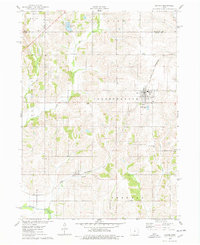 Download a high-resolution, GPS-compatible USGS topo map for Baxter, IA (1978 edition)