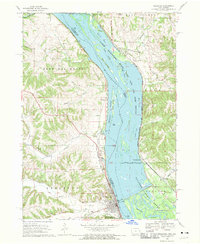 Download a high-resolution, GPS-compatible USGS topo map for Bellevue, IA (1970 edition)