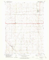 Download a high-resolution, GPS-compatible USGS topo map for Blairsburg, IA (1979 edition)