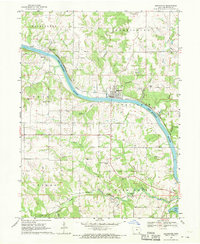 Download a high-resolution, GPS-compatible USGS topo map for Bonaparte, IA (1970 edition)