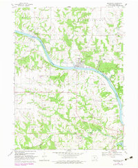 Download a high-resolution, GPS-compatible USGS topo map for Bonaparte, IA (1983 edition)