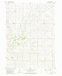 Download a high-resolution, GPS-compatible USGS topo map for Boyer, IA (1980 edition)