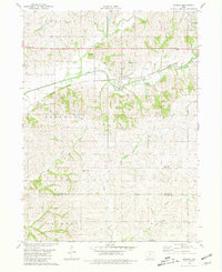 Download a high-resolution, GPS-compatible USGS topo map for Brooks, IA (1981 edition)
