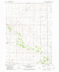 Download a high-resolution, GPS-compatible USGS topo map for Buckeye East, IA (1980 edition)