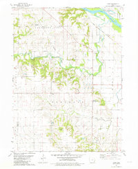 Download a high-resolution, GPS-compatible USGS topo map for Cairo, IA (1981 edition)