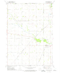 Download a high-resolution, GPS-compatible USGS topo map for Carpenter, IA (1975 edition)