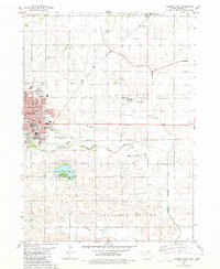 Download a high-resolution, GPS-compatible USGS topo map for Carroll East, IA (1980 edition)