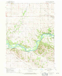 Download a high-resolution, GPS-compatible USGS topo map for Center Point NW, IA (1971 edition)