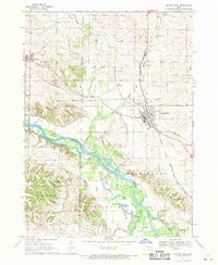Download a high-resolution, GPS-compatible USGS topo map for Center Point, IA (1971 edition)